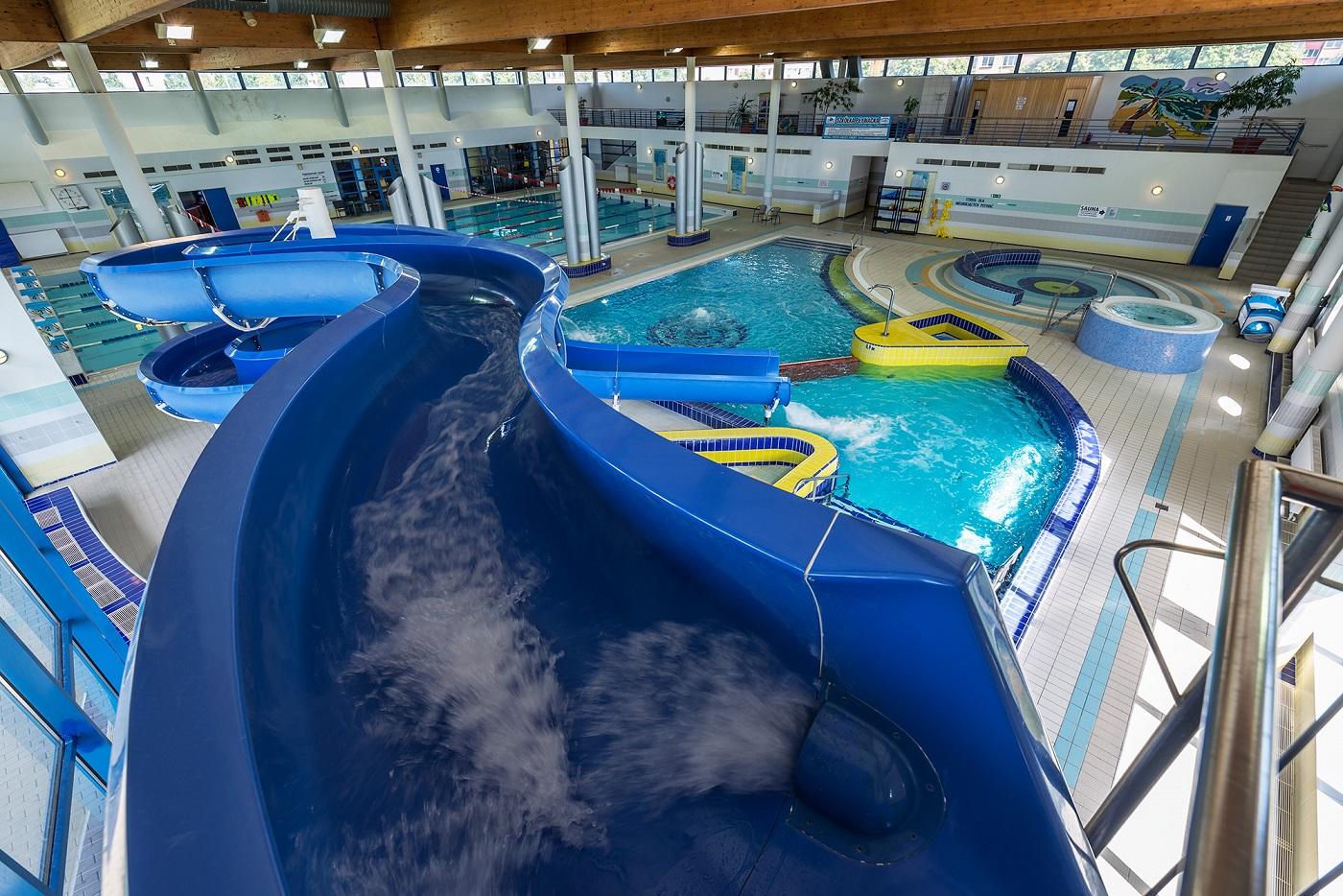 Pływalnia AQUASPORT - Zjeżdżalnia