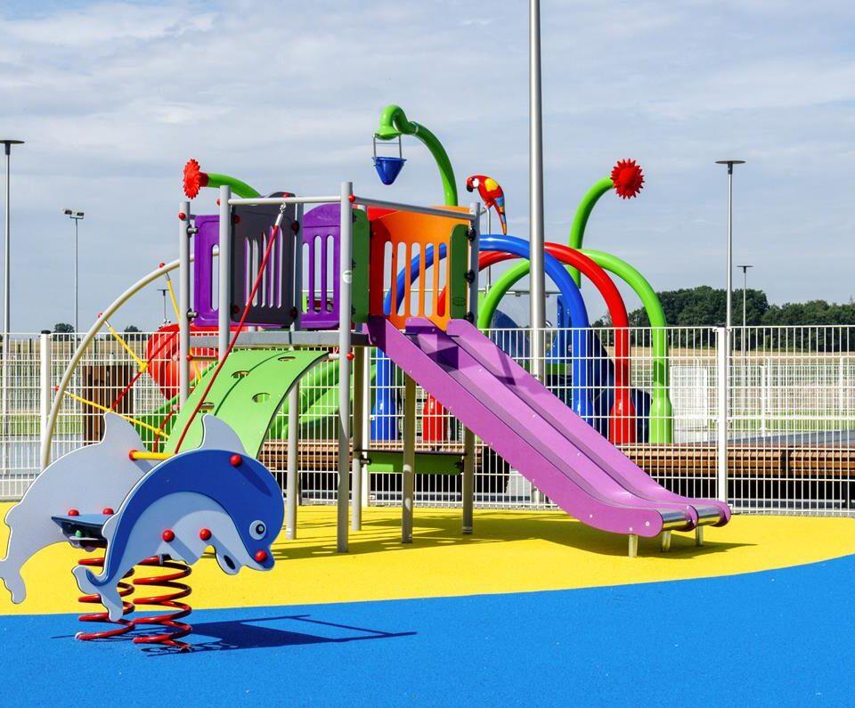 Strefa placu zabaw/strefa dzieci młodszych